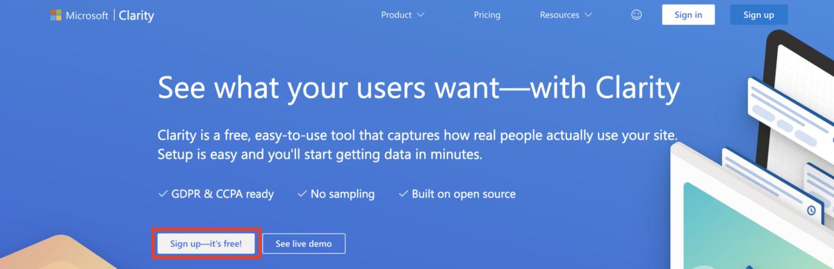 無料ヒートマップ「Microsoft Clarity」の導入方法